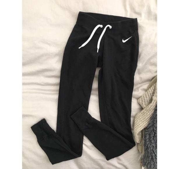 gráfico Formación fama  Nike Pants & Jumpsuits | Nike Womens Slim Joggers Sweats Black Xs | Poshmark